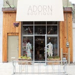 Photo taken at adorn boutique by adorn boutique on 9/22/2013