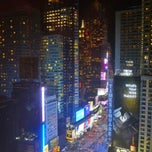 Photo taken at Crowne Plaza Manhattan Times Square by Rei B. on 3/6/2013