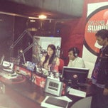 Photo taken at Swaragama 101.7 FM by Enda N. on 2/8/2013