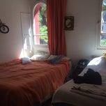 Photo taken at Don Santiago Hostel by Nicole M. on 11/3/2013