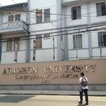 Photo taken at Adamson University by Tish T. on 5/2/2013