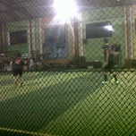 Photo taken at Liquid Futsal & Resto by Andrie A. on 8/11/2014