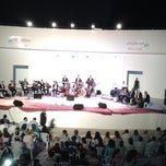 Photo taken at Théâtre De Plein Air De Boukornine | مسرح الهواء الطلق ببوقرنين by Abdelaziz H. on 8/1/2014