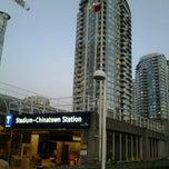Photo taken at Stadium - Chinatown SkyTrain Station by Homero C. on 10/3/2012