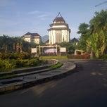 Photo taken at Gedung Rektorat Universitas Brawijaya by AxeL D. on 12/30/2012