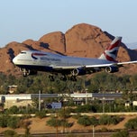 Photo taken at Phoenix Sky Harbor International Airport (PHX) by Tom M. on 7/28/2012