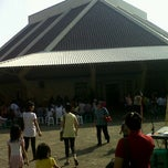 Photo taken at Gereja Katolik Santa Monika by Fajar Sakti A. on 5/20/2012