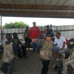 Photo taken at Official Paintball by Nicole R. on 6/29/2014