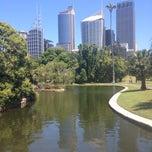 Photo taken at Royal Botanic Garden by Olivia P. on 11/6/2013