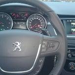 Photo taken at Peugeot (AutoForte) by Deniss K. on 11/18/2014