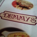 Photo taken at Demmy's Pastas - Pizzas by Dora Lucia V. on 6/24/2013
