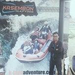 Photo taken at Kasembon Rafting by Fahmi A. on 2/8/2014