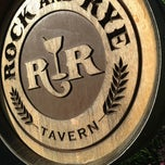 Photo taken at Rock and Rye Tavern by Dan C. on 6/11/2013