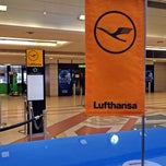 Photo taken at Terminal 1 المبنى by Aaron T. on 1/16/2014