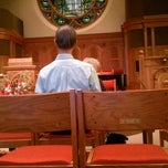 Photo taken at First Unitarian Church of Cincinnati by Nathan M. on 10/14/2012