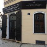 Photo taken at La Degustation Bohême Bourgeoise by Damir T. on 10/2/2012