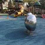 Photo taken at 성주어린이 공원 by yuna o. on 4/21/2014
