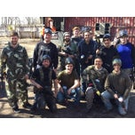 Photo taken at Cousins Paintball Staten Island by Noah P. on 4/11/2015