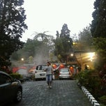 Photo taken at Pemandian Air Panas - Hotel Duta Wisata Guci by Anzi on 4/1/2013