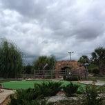 Photo taken at Mac N Bones Mini Golf by Brandi W. on 7/16/2012