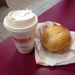 Photo taken at Dunkin Donuts by Heekyung K. on 10/12/2013
