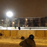 Photo taken at Parc St-Michel by Kevin T. on 1/8/2014