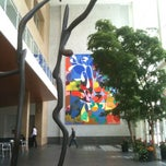 Photo taken at 101 Second Street Atrium by Andrew D. on 8/29/2014