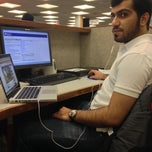 Photo taken at Library Presentation Room 028 by 3omar k. on 1/14/2014