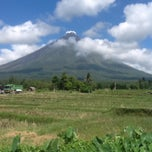 Photo taken at Sto. Domingo, Albay by Harvvey C. on 4/18/2014