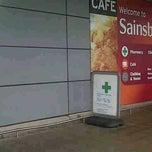 Photo taken at Sainsbury's by Rhian on 10/2/2013