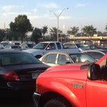 Photo taken at Indian Trail Park & Ride Lot by Dan M. on 9/4/2013