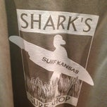 Photo taken at Sharks Surf Shop by Hannah B. on 8/1/2013