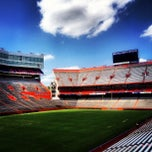 Photo taken at Ben Hill Griffin Stadium by Emily O. on 4/15/2013