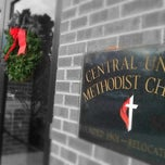Photo taken at Central United Methodist Church by Ken J. on 12/21/2014