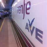 Photo taken at AVE Valencia-Madrid by Sergio W. S. on 11/21/2012