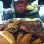 Photo taken at Old Carolina Barbecue Company by Edward E. on 7/6/2013
