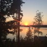 Photo taken at Kiljavan Opisto - Kiljavanranta by Lina B. on 8/4/2014