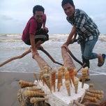 Photo taken at Sri Pantai Chalet Melawi, Bachok by Zull O. on 1/18/2014