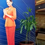 Photo taken at Garuda Indonesia Sales & Ticketing Office by Evie A. on 8/30/2014