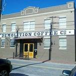 Photo taken at Demolition Coffee by Neli W. on 11/23/2012