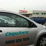 Photo taken at Tesco by ChipsAway O. on 11/24/2012