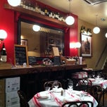 Photo taken at Chabrot Bistrot D'ami by Dogan G. on 11/8/2013