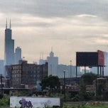 Photo taken at CTA - Halsted by Arno M. on 7/9/2013