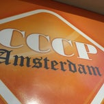 Photo taken at cccp amsterdam by Guido L. on 5/31/2013