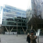 Photo taken at Spinningfields Square by Ms. A. on 3/31/2013