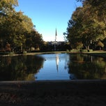 Photo taken at Furman Quad (Mall) by Samuel H. on 11/1/2012