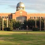 Photo taken at Houston Baptist University by Javier M. on 11/15/2012