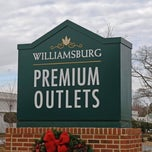 Photo taken at Williamsburg Premium Outlets by Maria M. on 4/16/2013