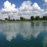 Photo taken at Dobson Ranch Park by Sarah C. on 9/10/2013