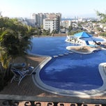 Photo taken at Selva Romantica infinity pool by Natalie S. on 2/21/2014